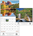 Landscapes Of America Spiral Wall Calendars